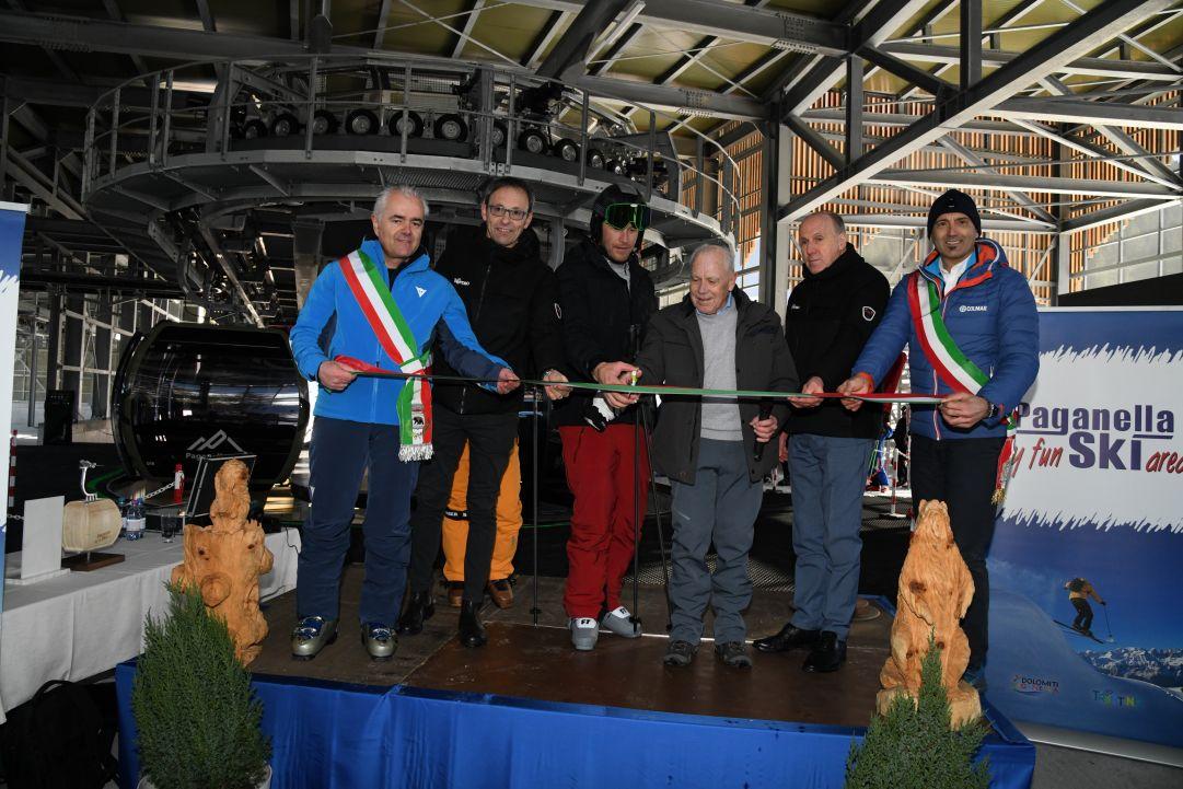 Paganella, Bode Miller inaugura l'impianto Dosson- Selletta