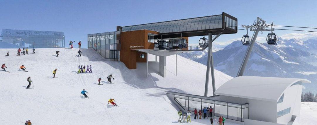 Austria, nuova cabinovia Flying Mozart a Wagrain