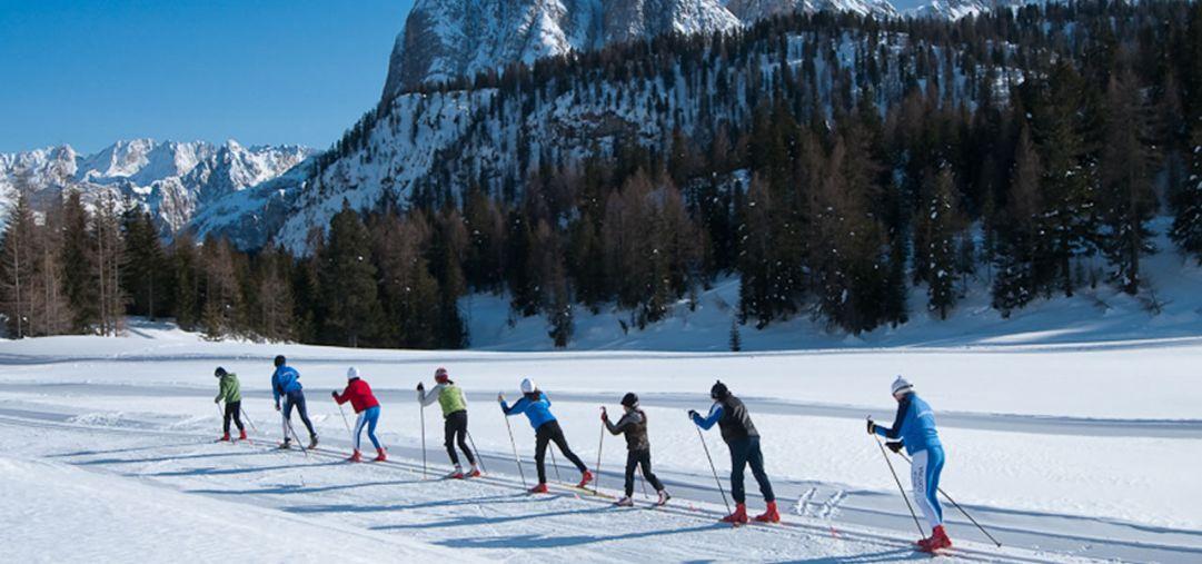 A Cortina d'Ampezzo grande successo per l'inizio di stagione dello sci di fondo