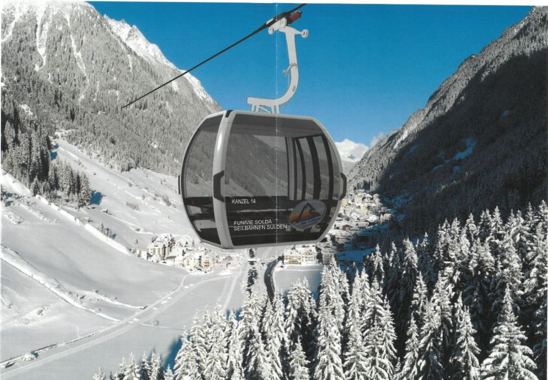 Nuova cabinovia Kanzel a Solda