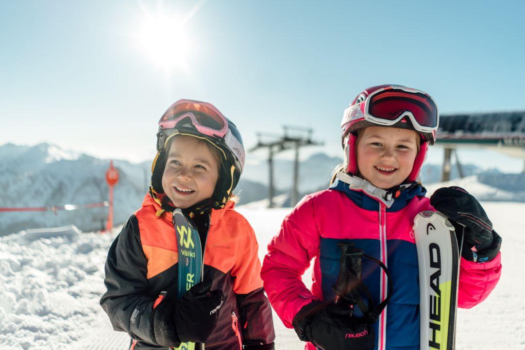 Nassfeld Pramollo, il 24 dicembre i bambini e i ragazzi sciano gratis
