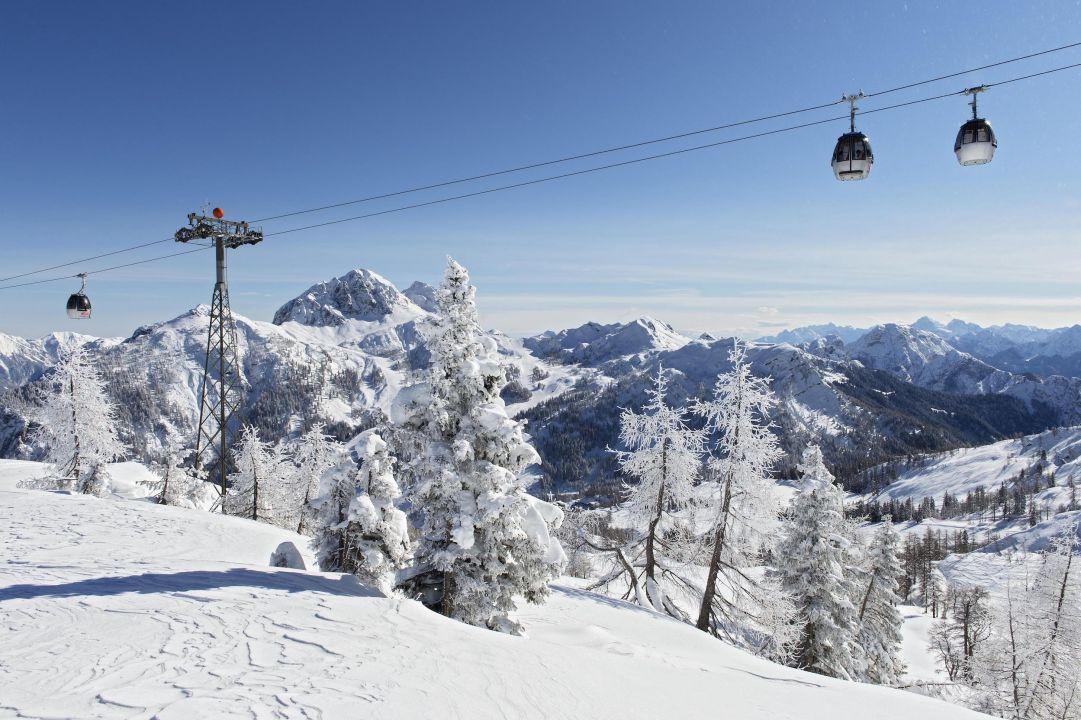 Nassfeld Pramollo, questo weekend si scia su 110 km di piste da sci
