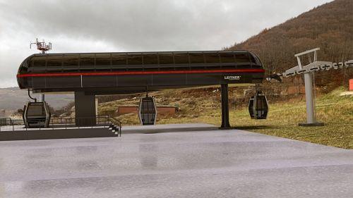 Rivisondoli Monte Pratello, nuova cabinovia Fontanile-Vallone