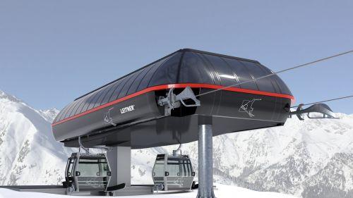 Una nuova cabinovia a 10 posti nel comprensorio Ladurns