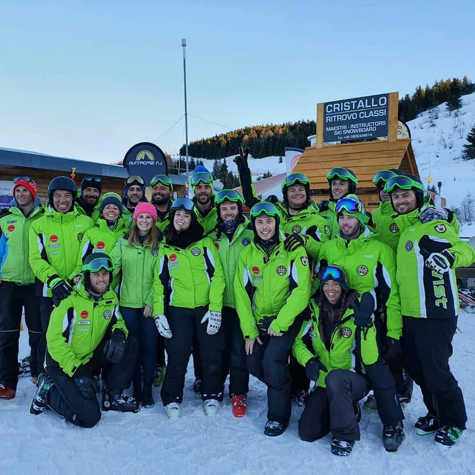 I Maestri Cristallo sono pronti per la nuova stagione invernale a Monte Bondone