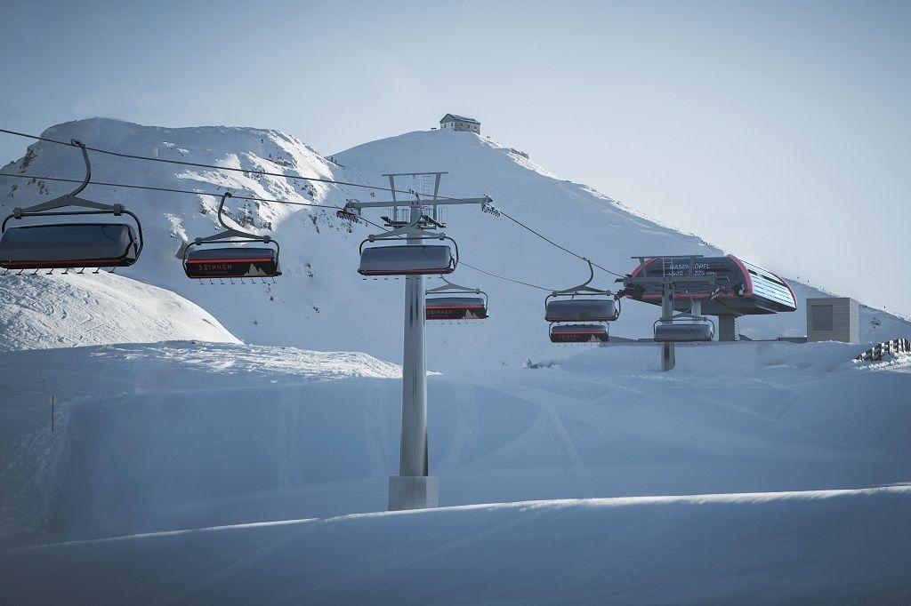 Dolomiti Superski, nuova seggiovia Hasenköpfl sul Monte Elmo