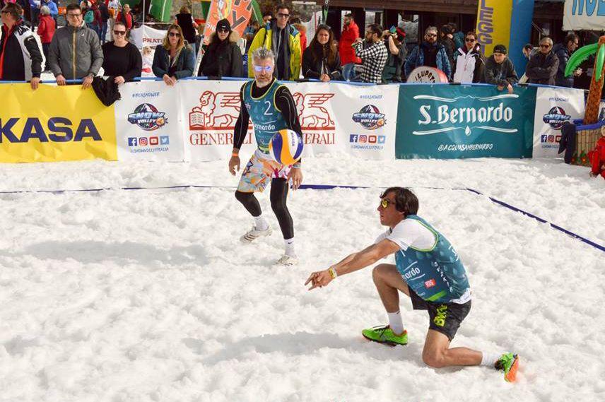 prato Nevoso snow volley
