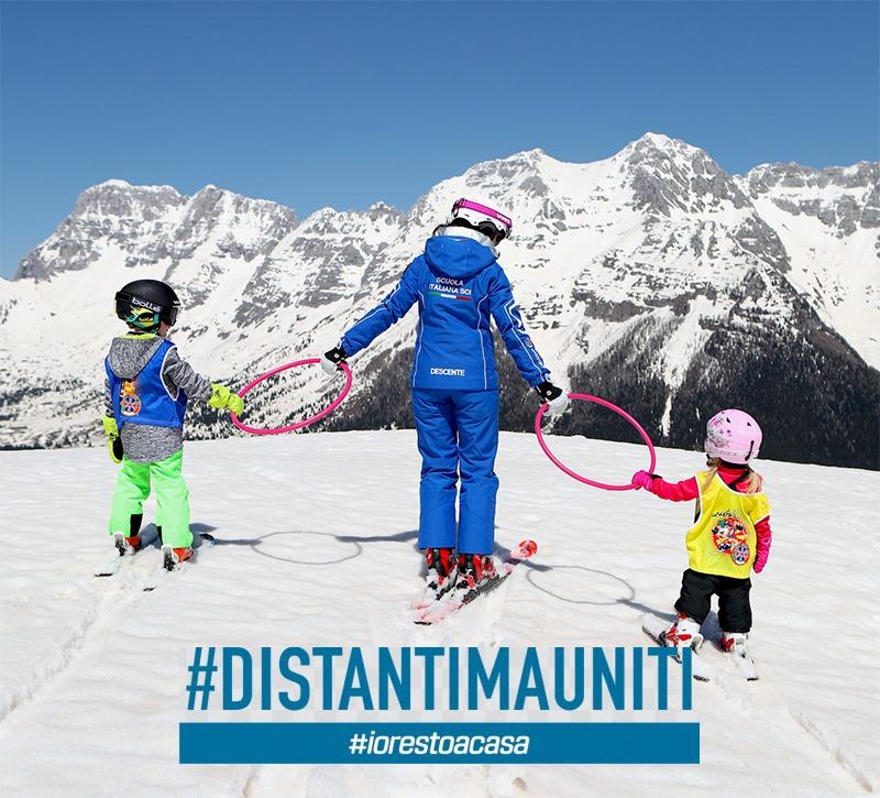 #DistantiMaUniti. Annullata la Finale del Gran Premio Giovanissimi e il Campionato Italiano Maestri di sci