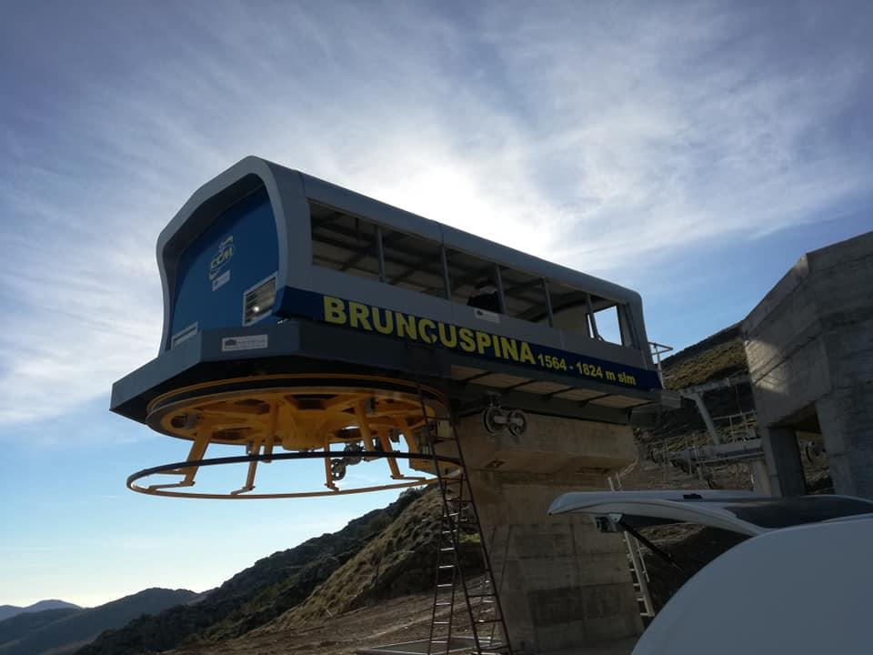 Sardegna, seggiovia Bruncu Spina pronta per la prossima stagione invernale