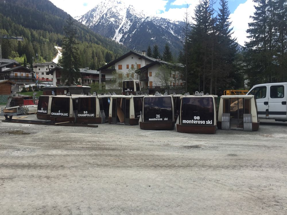 nuova cabinovia champoluc-crest