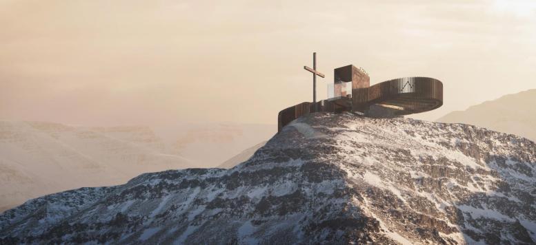In Val Senales una nuova esperienza con la piattaforma panoramica Iceman Ötzi  Peak