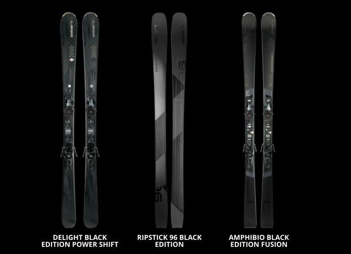 Elan presenta la linea Black Edition della collezione 2018/2019