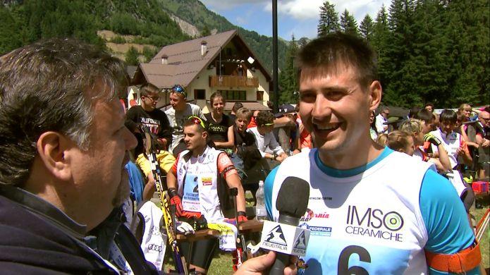 Neveitala in onda su TeleAmica con il Frassinoro Summer Biathlon Festival