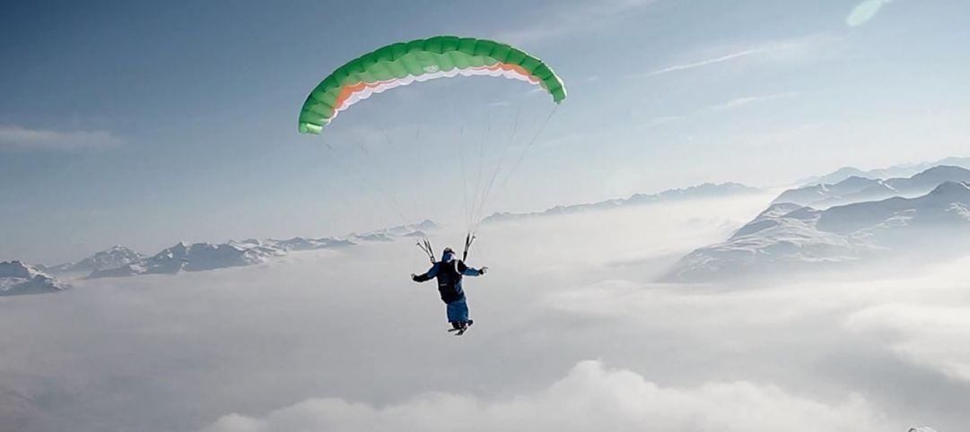 Photo dal film: Wanna Ride? credit: Banff Mountain Film Festival - World Tour Italy