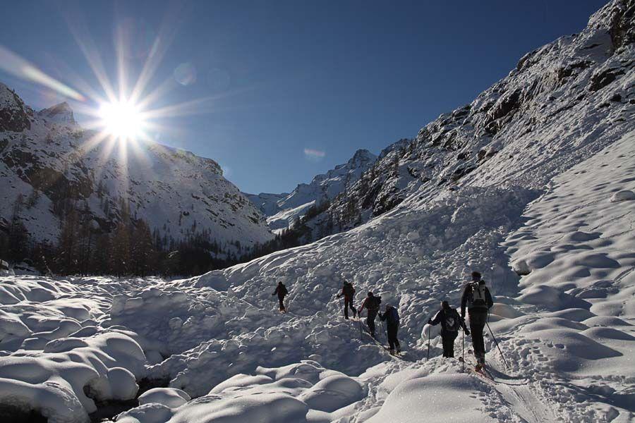 Testa del Grand Etret in Valsavarenche, nel cuore del Gran Paradiso