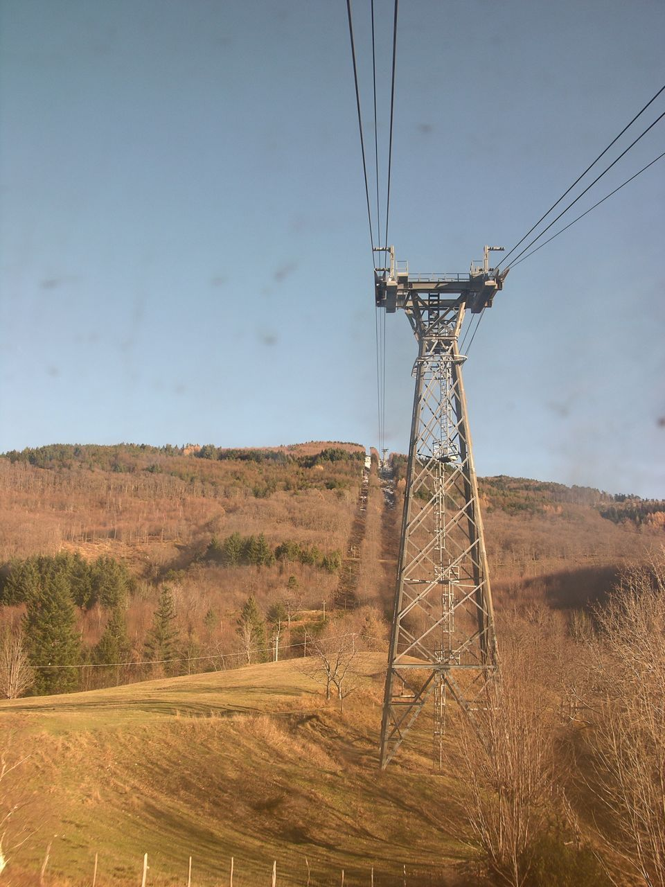 La neve dei giorni scorsi a valle già si è sciolta
