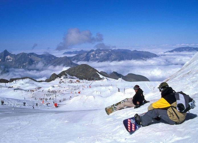 Les deux Alpes Sci Estivo sul Ghiacciaio