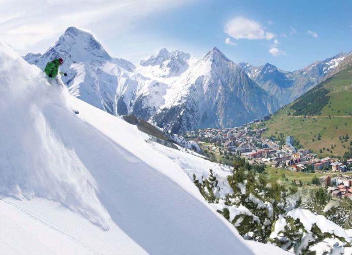 copertina full ski 2alpes