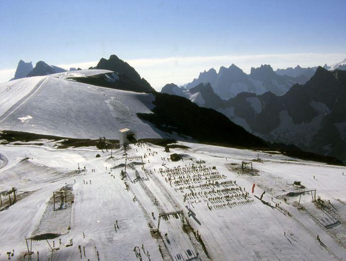 Les deux Alpes sul Ghiacciaio