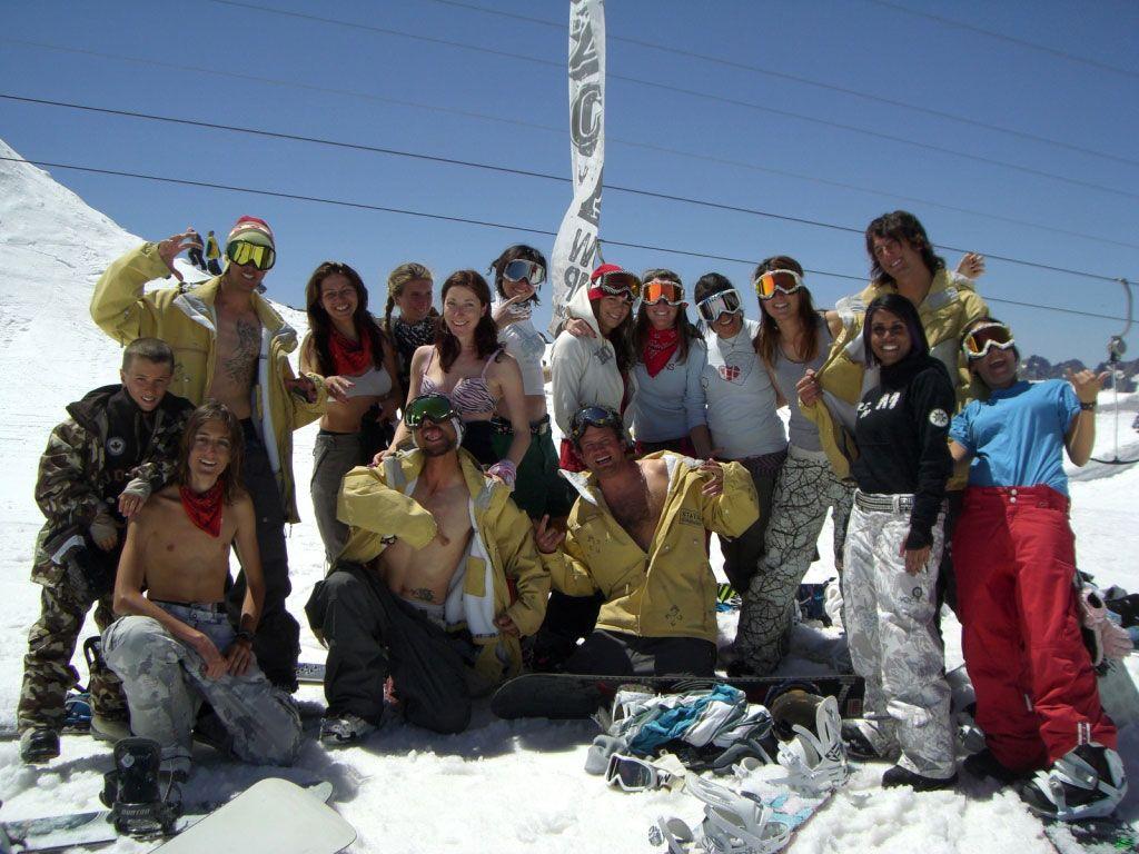 Nazca Camp a Tignes 2008