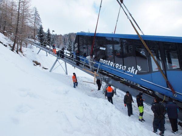 Funicolare Frachey - Alpe Ciarcerio © Monterosa-Ski