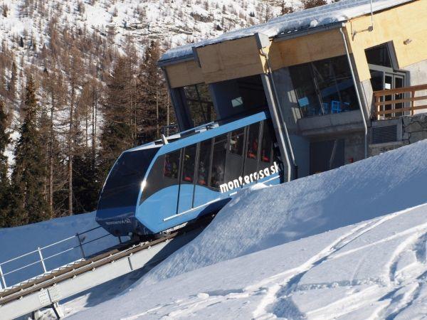 Funicolare Frachey - Alpe Ciarcerio