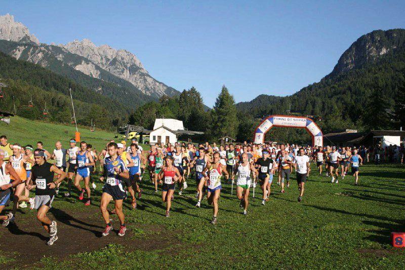 Sky-Race Dolomiti Friulane partenza