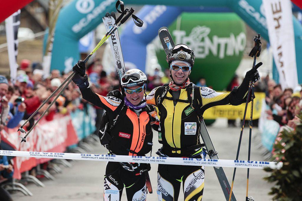 I vincitori dell'Adamello Ski Raid 2013