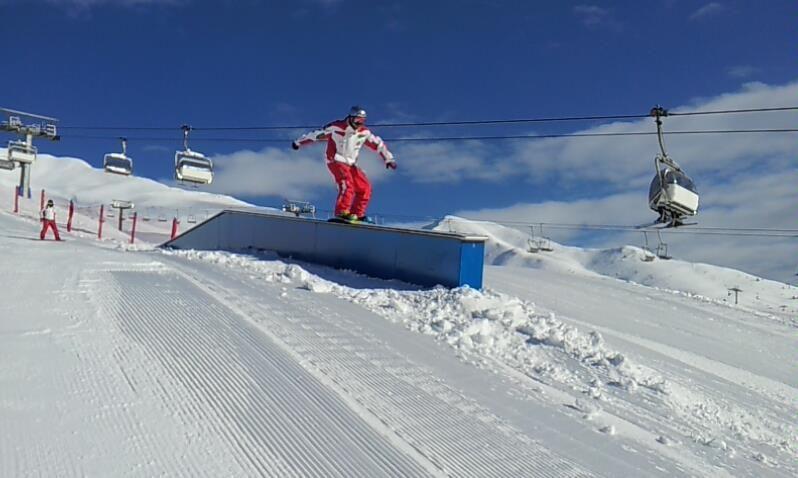 Serodine snow park al Passo del Tonale, novità 2013 credit: Facebook Adamello Ski