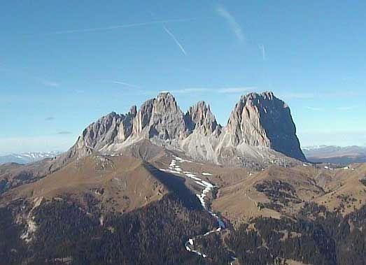 webcam Val di fassa Trentino