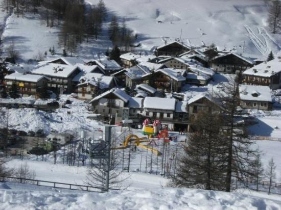 pattemouche ed il parco giochi sulla neve