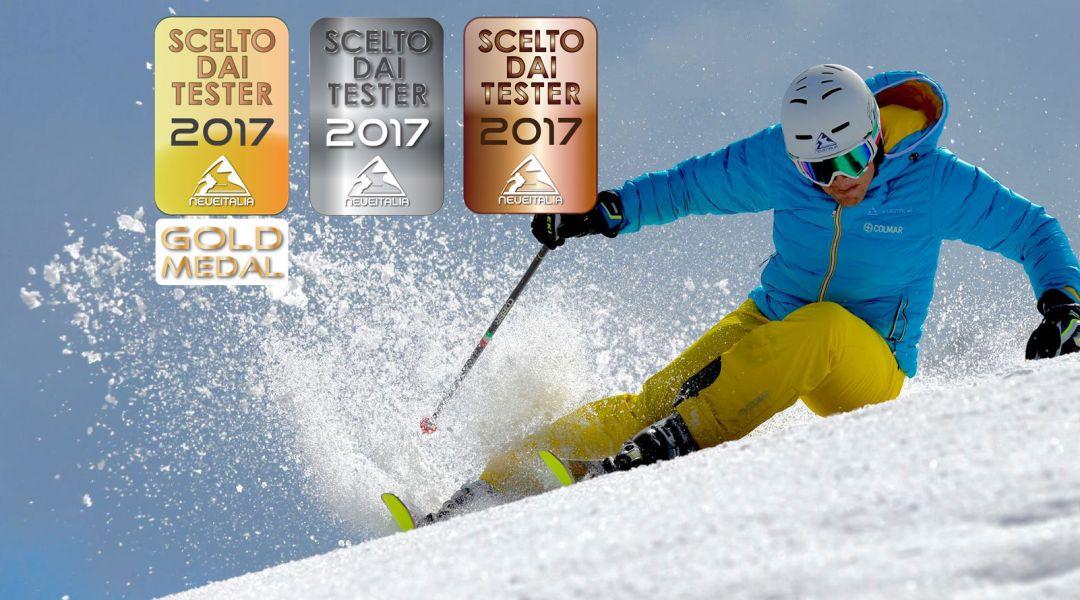 Gold Medal per i migliori sci della stagione 2016/17