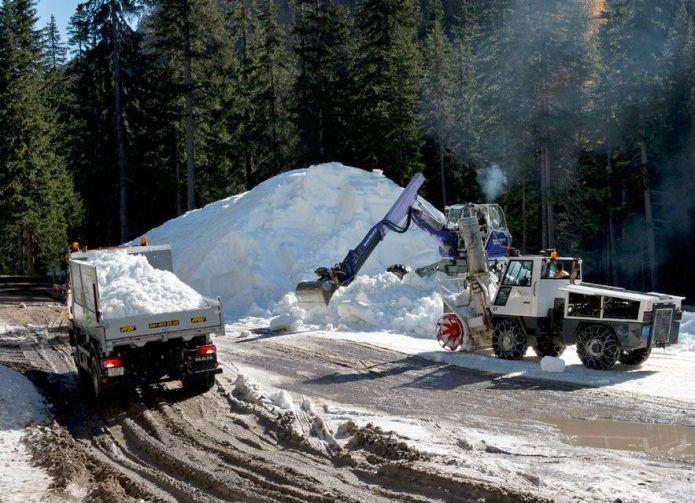 accumuli di neve per la prossima stagione