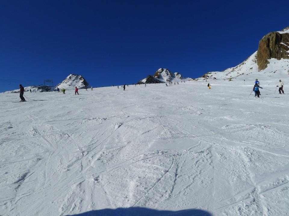 piste del ghiacciaio di Soelden