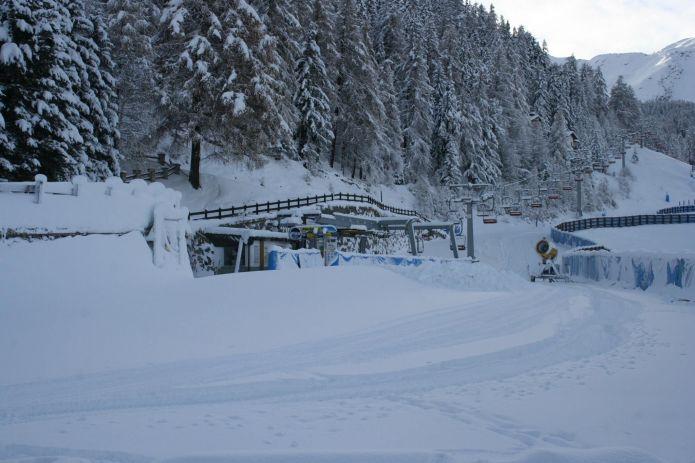 Pila dopo la nevicata del 22 novembre 2013
