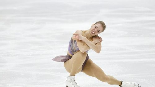 Carolina Kostner, work in progress