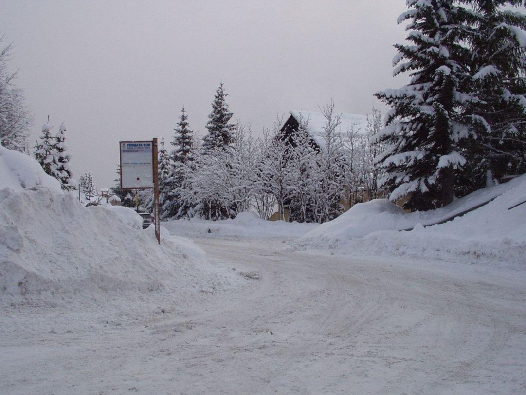 Fermata Navetta gratuita che porta sugli impianti da sci