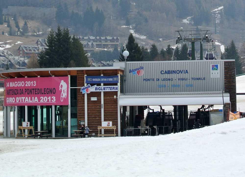 biglietteria Ponte di legno Adamello Ski