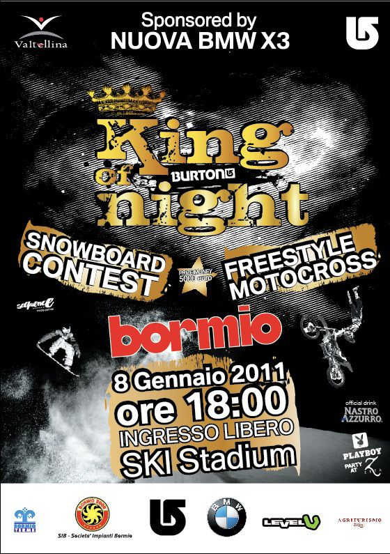 Flyer King Of Night 2011