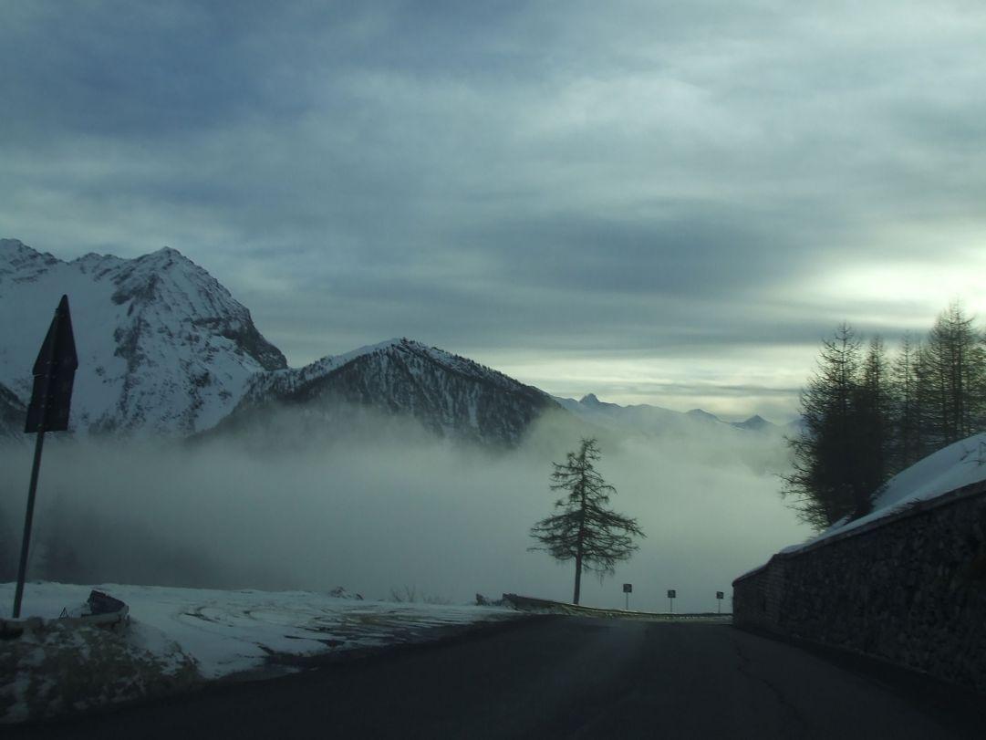 ..oltre la nebbia ci sono le piste!