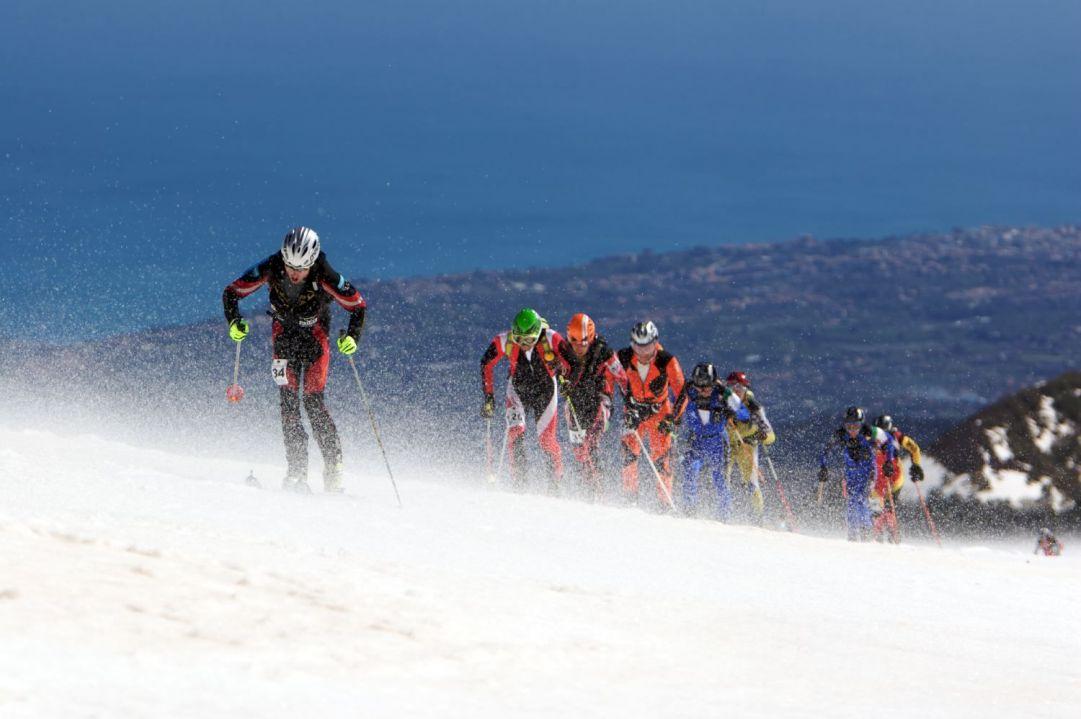 Vento e mare al Trofeo dell'Etna di Scialpinismo