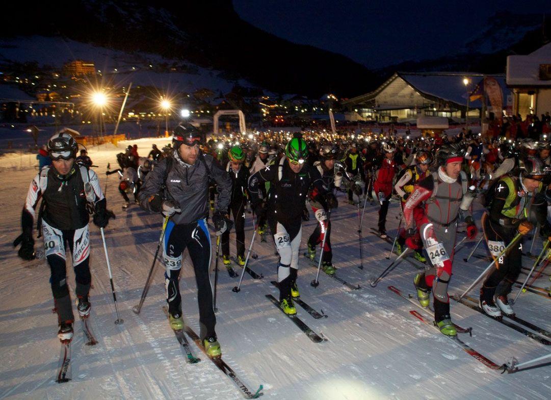 partenza Sellaronda Skimarathon 2012
