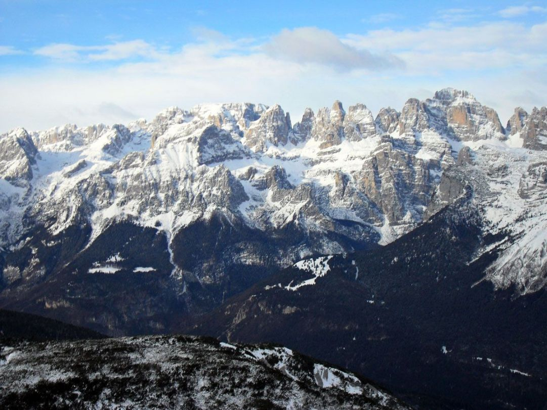panoramica Dolomiti del Brenta