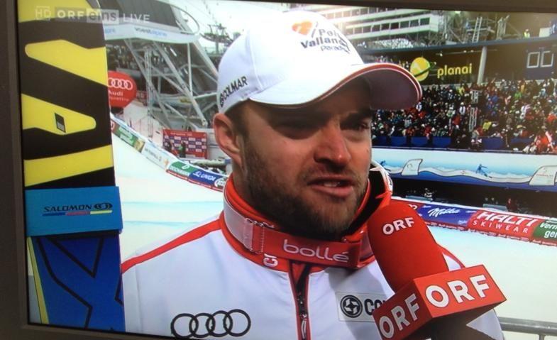 argento nella discesa a Schladming 2013 credit: Facebook Salomon Racing