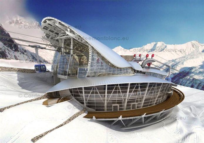 Il 2015 si avvicina per la funivia del Monte Bianco: da oggi chiude ...