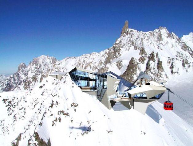 Nuova Funivia del Monte Bianco