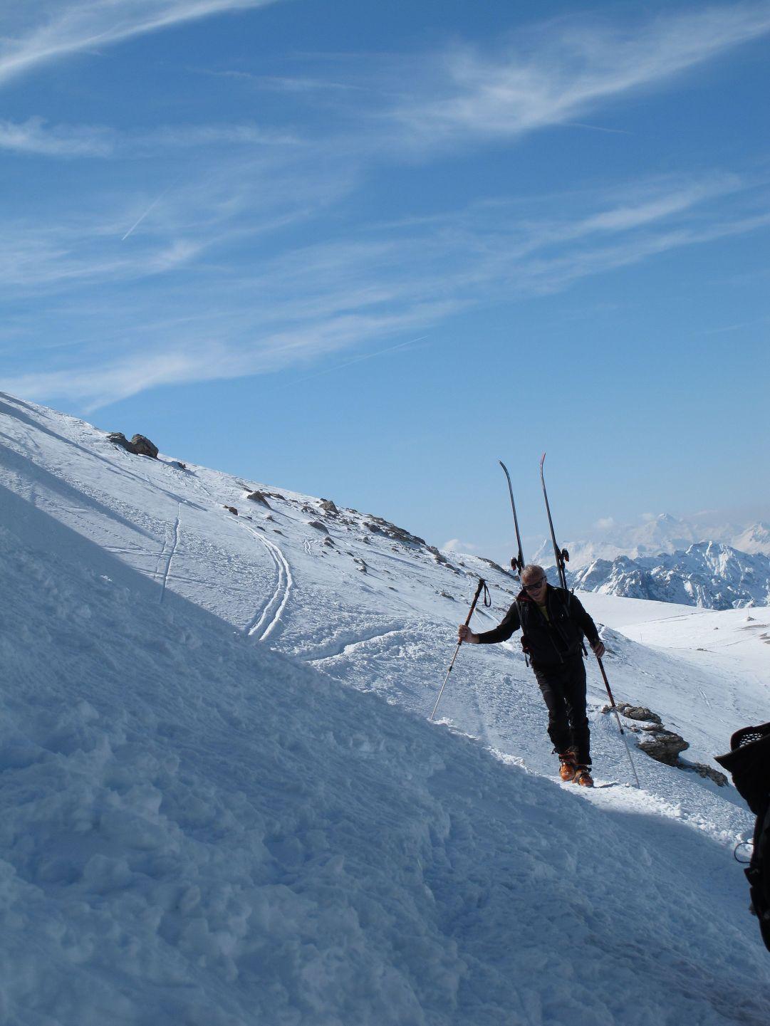 Gino traversata Pordoi per Rif. Boè  ( foto di MarcoCorti)