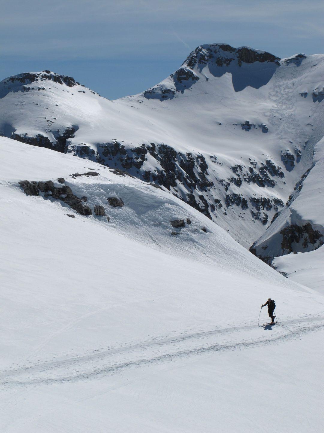 Gino  salita al Pisciadù per Val Setus>ValCulea foto di MarcoCorti