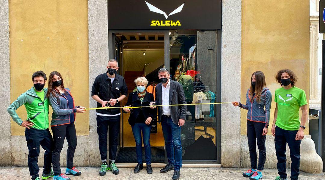 A Verona inaugurato un nuovo Salewa Store. È il 32esimo negozio del gruppo Oberalp in Italia