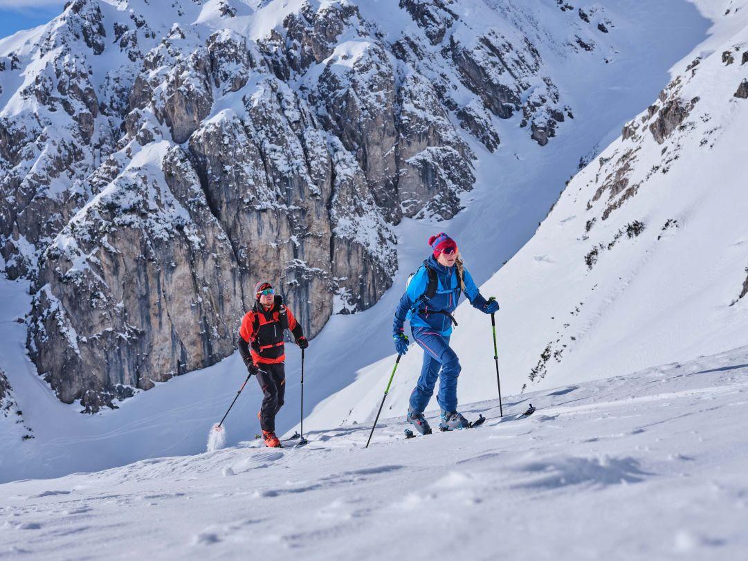 Per l'alta montagna la garanzia dell'abbigliamento tecnico Dynafit